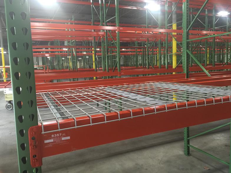 D4246aa3a1 Wire Mesh Decking 42 Deep X 46 Wide Wire