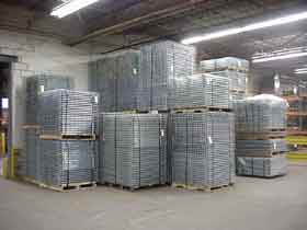 Pallet Rack Decks, Wire Decking NC, Charlotte, NC and Denver, NC